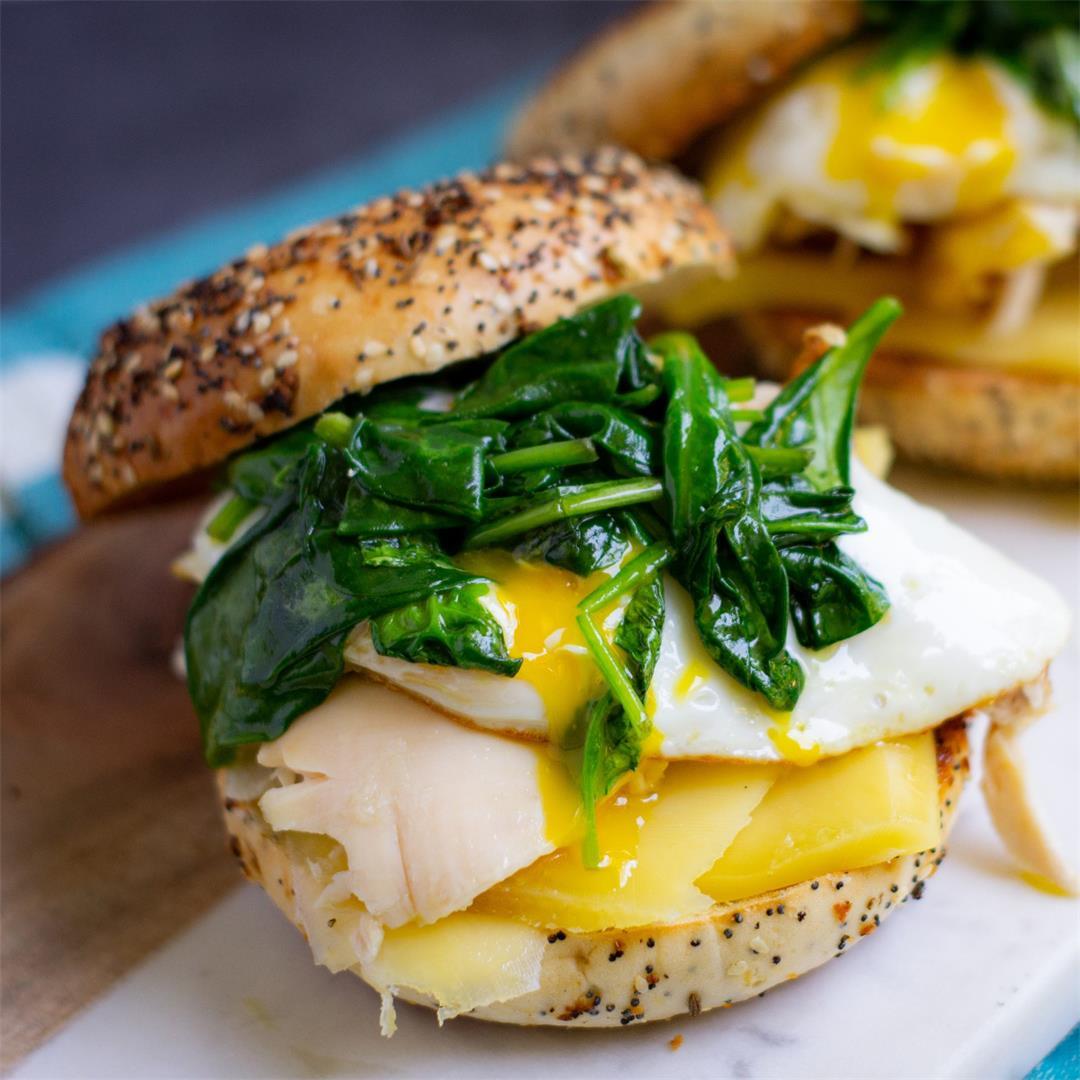Costco Chicken Bagel Sandwich