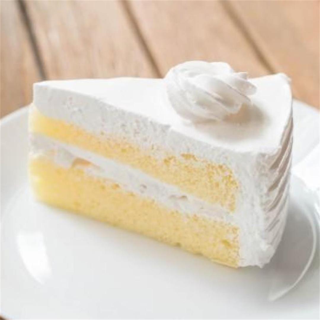 Vanilla Cake Recipe Malaysia