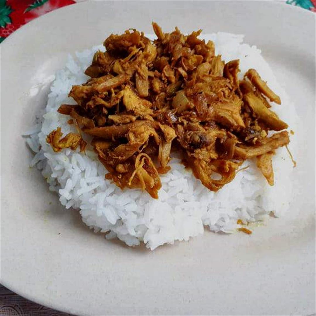 Chicken Pastil