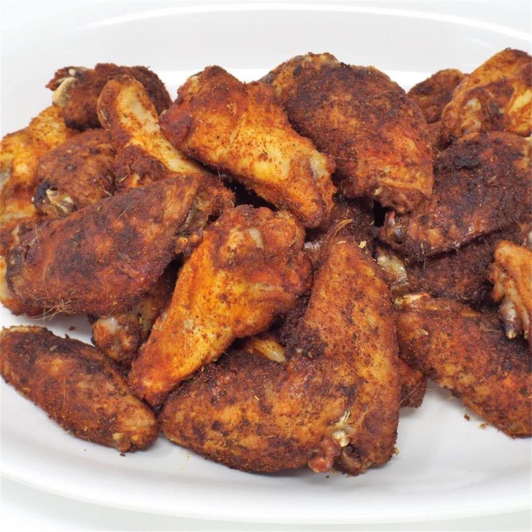 Tex-Mex Baked Chicken Wings