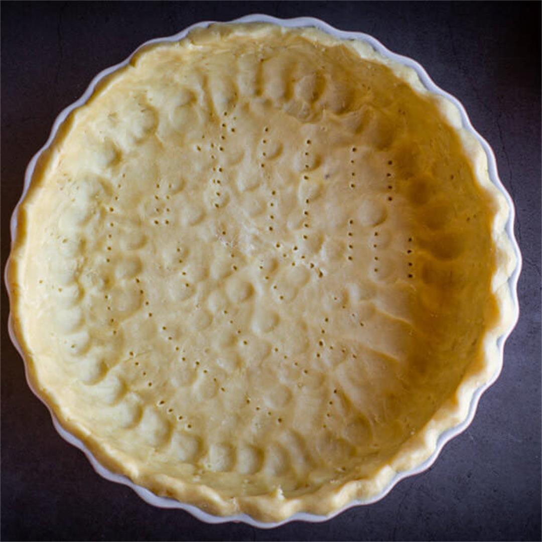 Vegan Pie Crust (No-Roll)