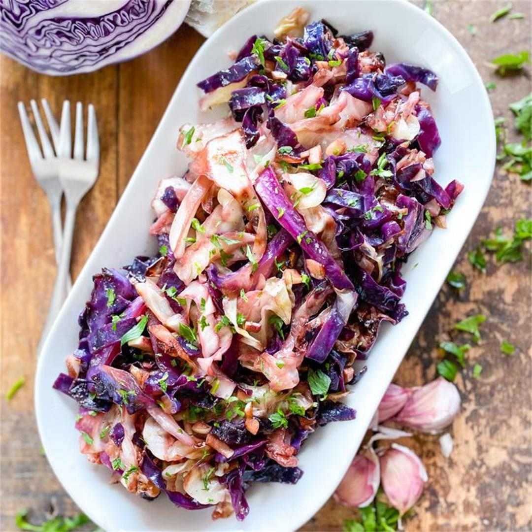 The Best Cabbage of your Life   Spanish Garlic Cabbage