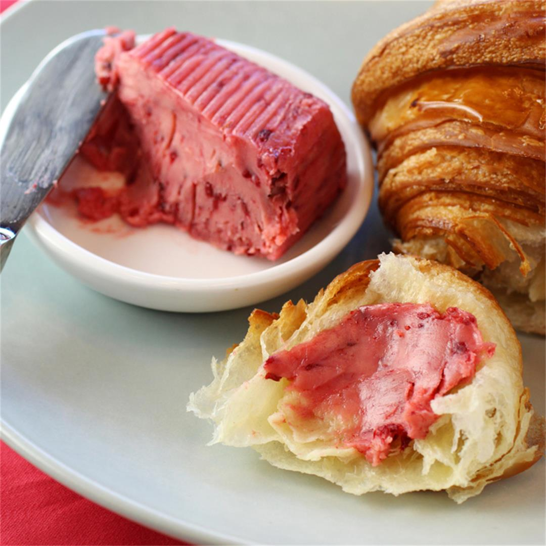 Limited-edition Raspberry French Butter