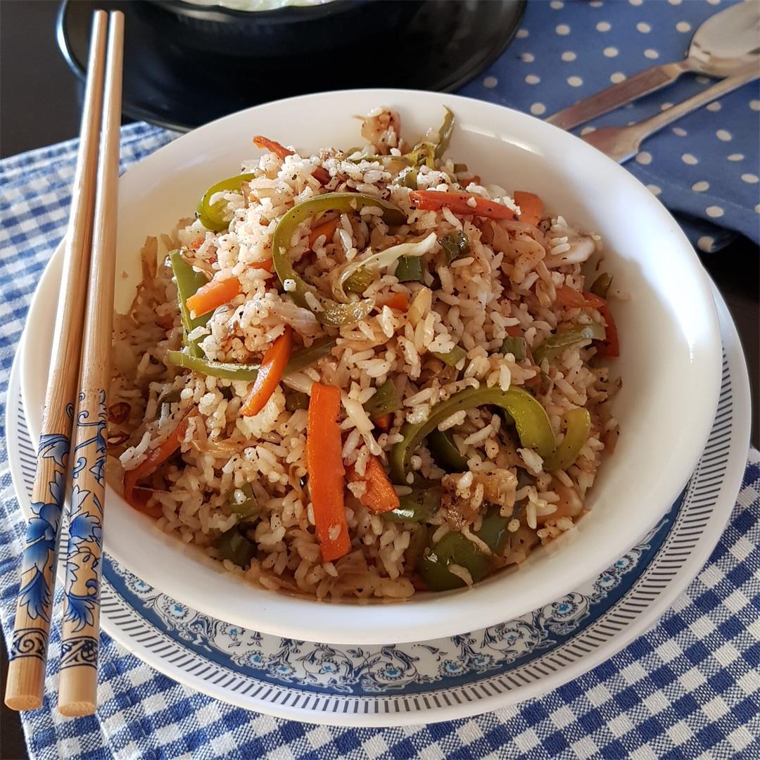 Vegetable Fried Rice/Veg Fried Rice