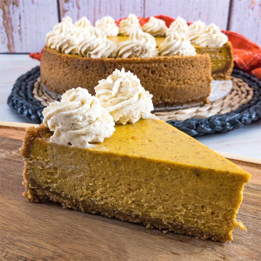 How to Make the Perfect Pumpkin Cheesecake