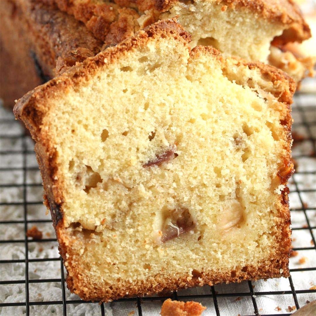 Peach Cobbler Pound Cake Recipe