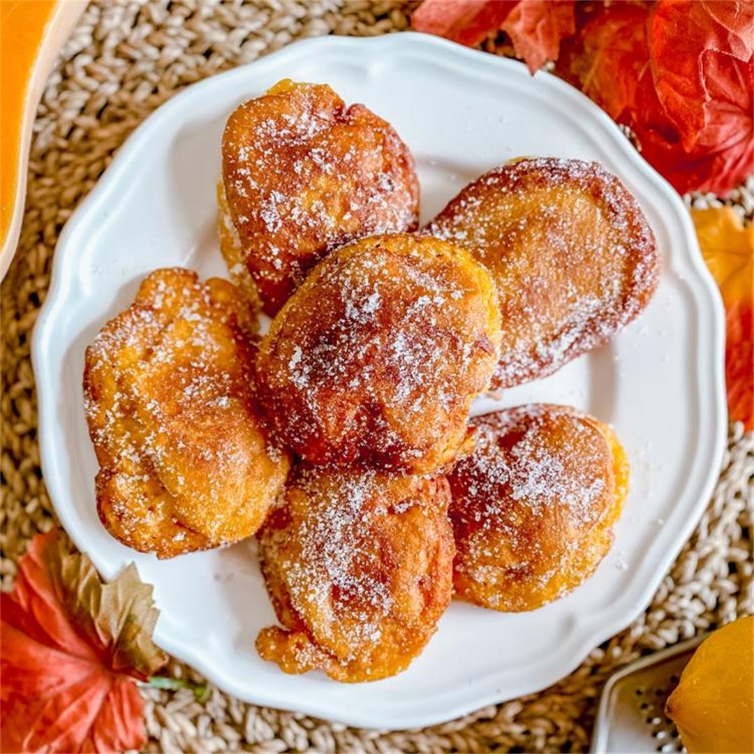 Spanish Pumpkin Buñuelos