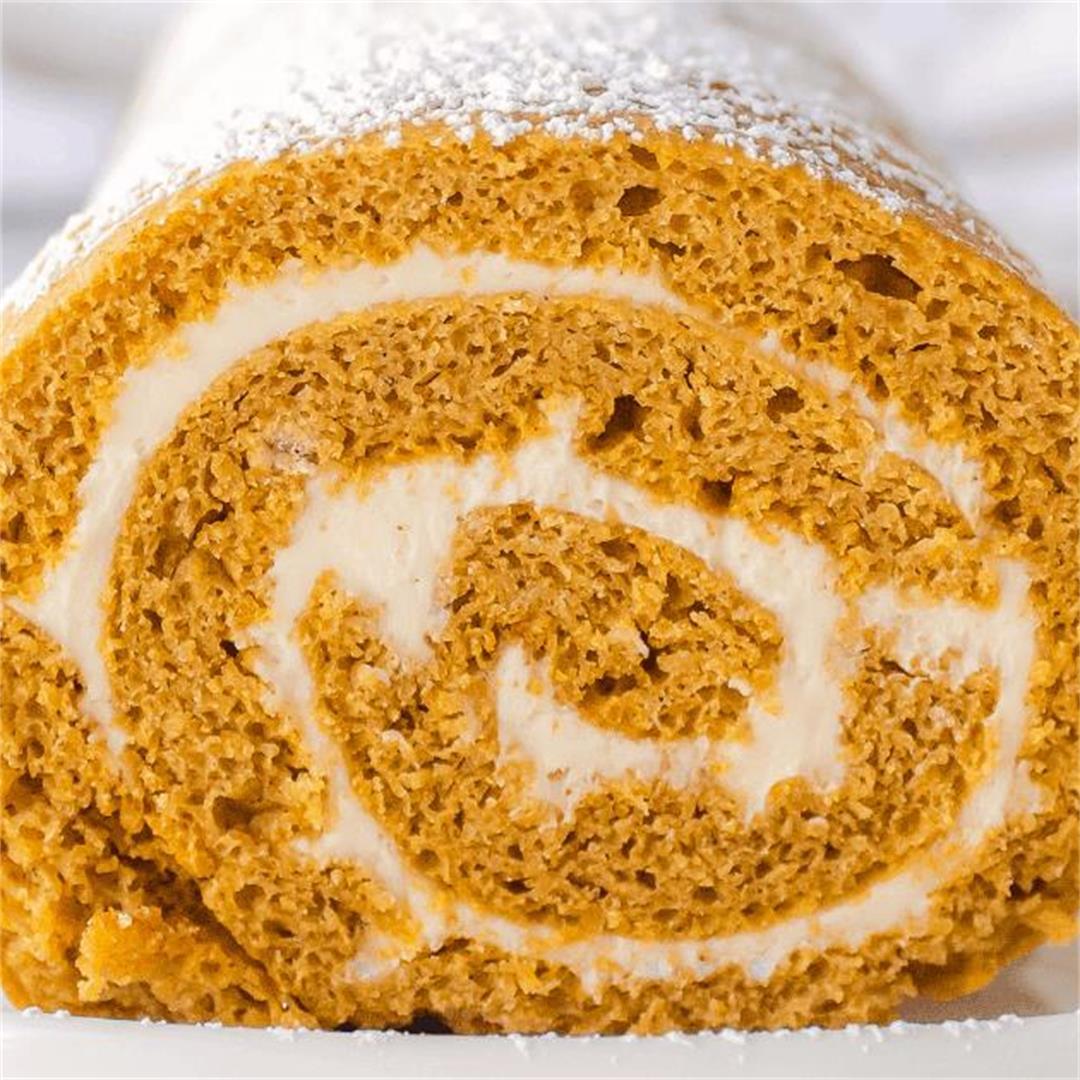 Cake Mix Pumpkin Roll