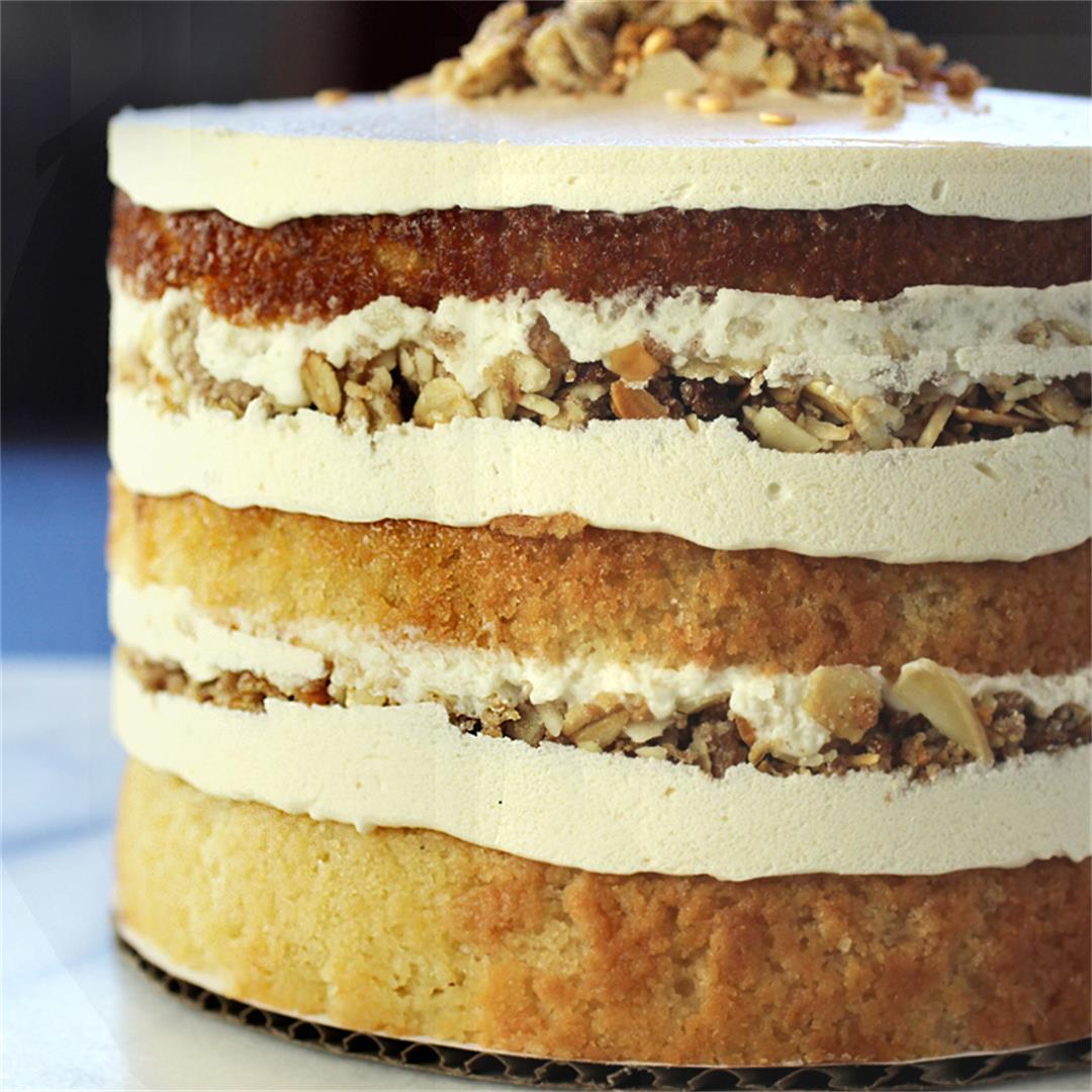 Cinnamon Brown Butter Almond Cake