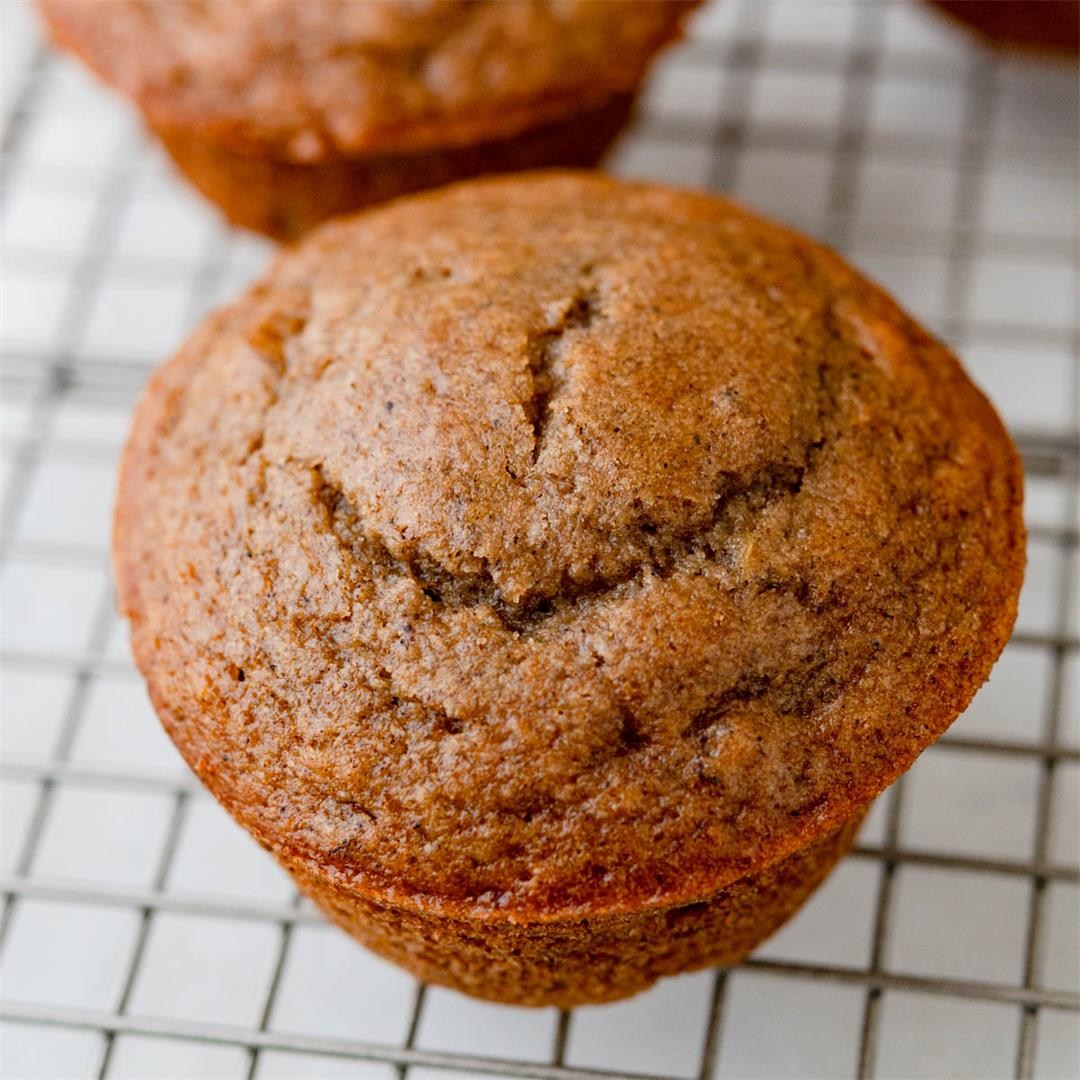 Simple Homemade Applesauce Muffins