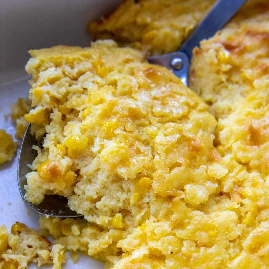 Creamy Gluten-Free Corn Casserole