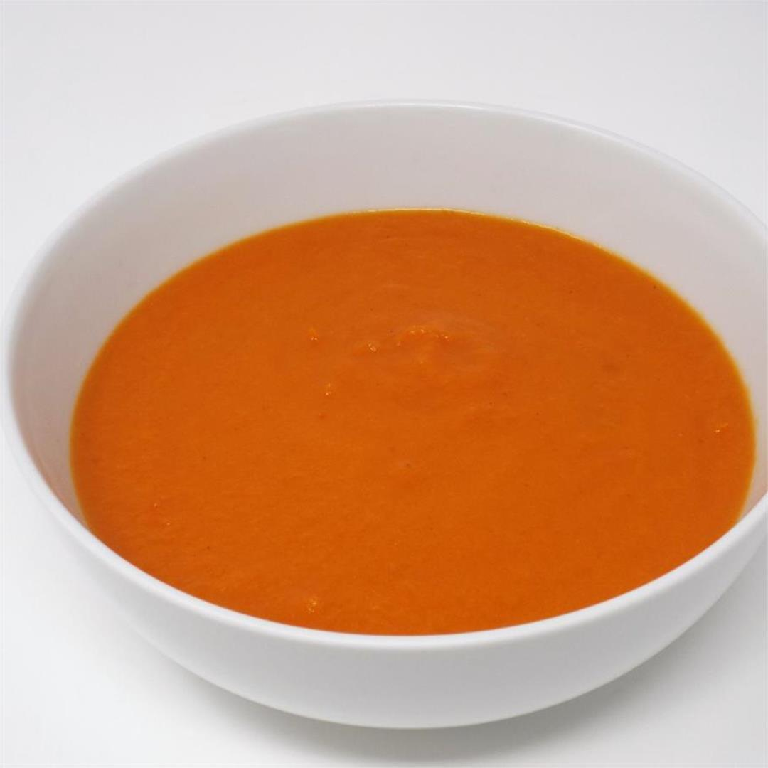 Creamy Tomato and Carrot Soup