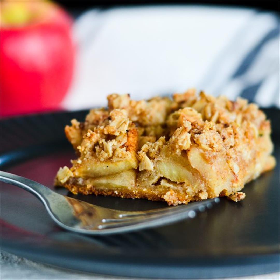 Apple Crisp Bars (GF & Vegan)
