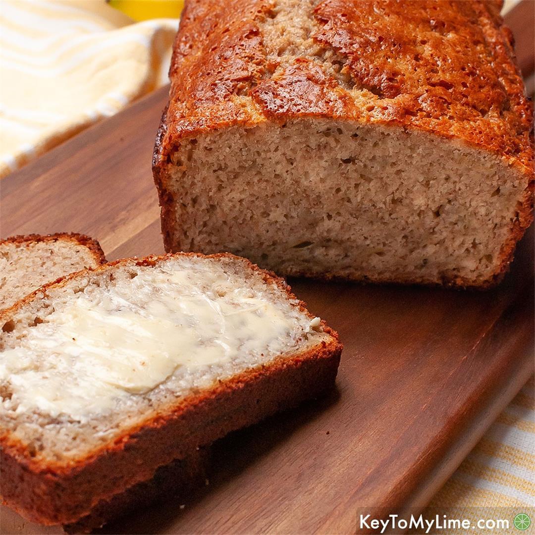 BEST EASY Bisquick Banana Bread