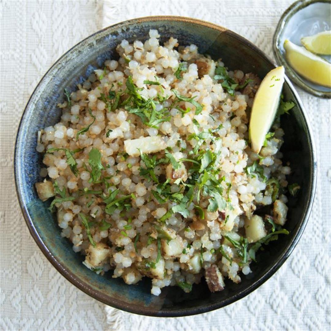 Sabudana Khichdi/Savory Tapioca Snack