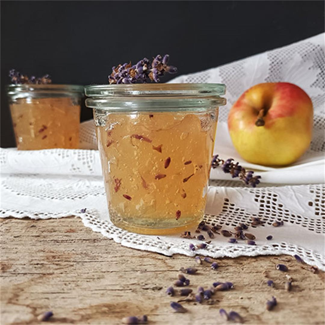 Apple Lavender Jelly