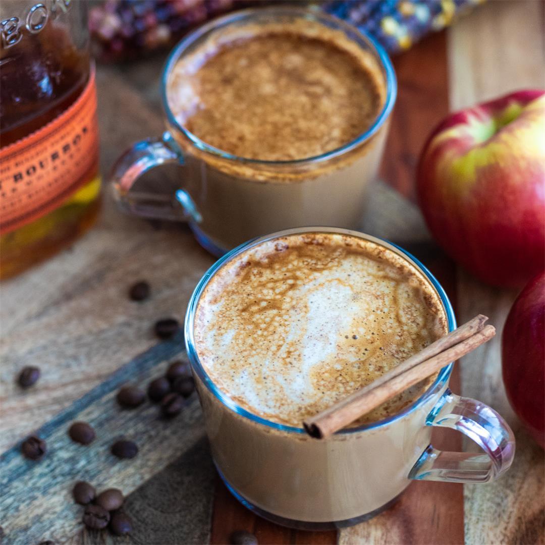 Apple Cider Bourbon Latte