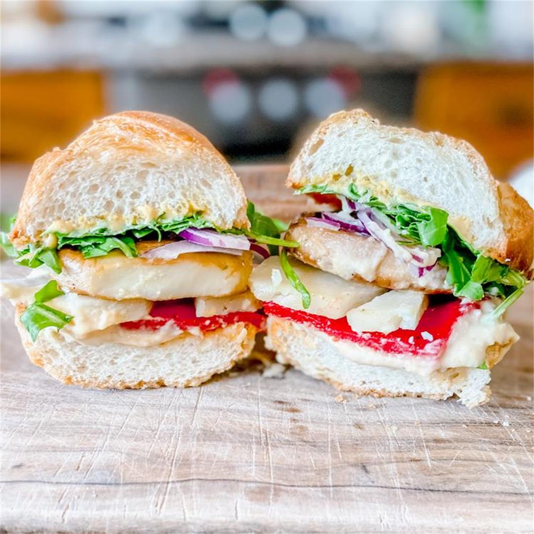 The Vegetable Sandwich that Breaks all the Rules