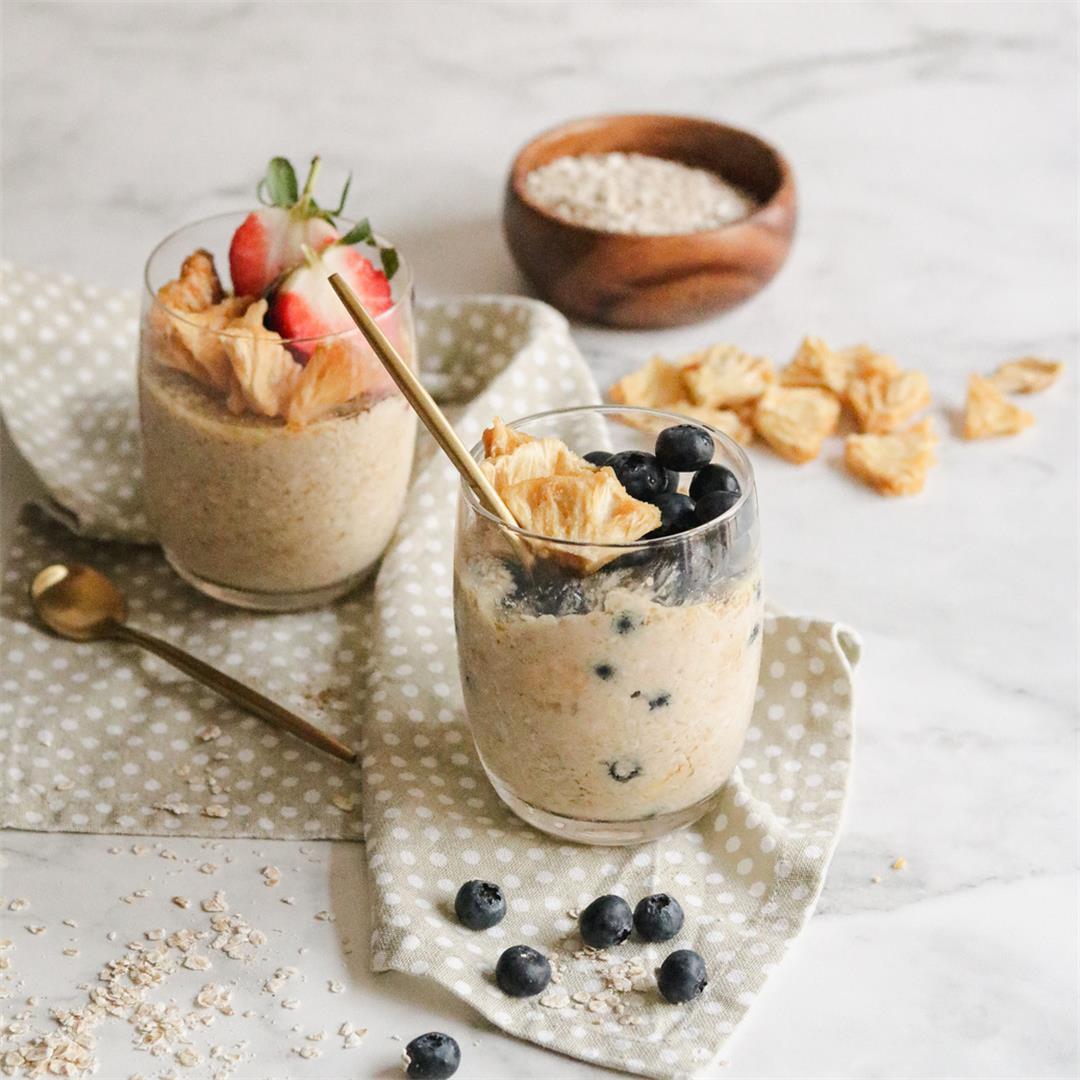 Fruity overnight oats