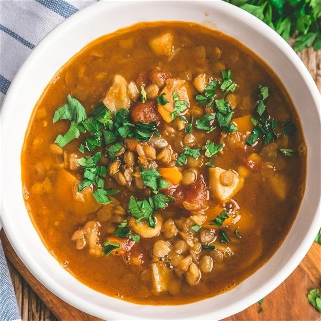 Simple Lentil Soup Recipe That Will Warm Your Heart & Your Soul