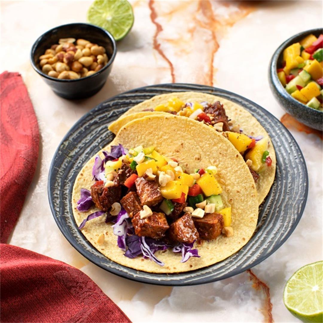 Sambal Tempeh Tacos