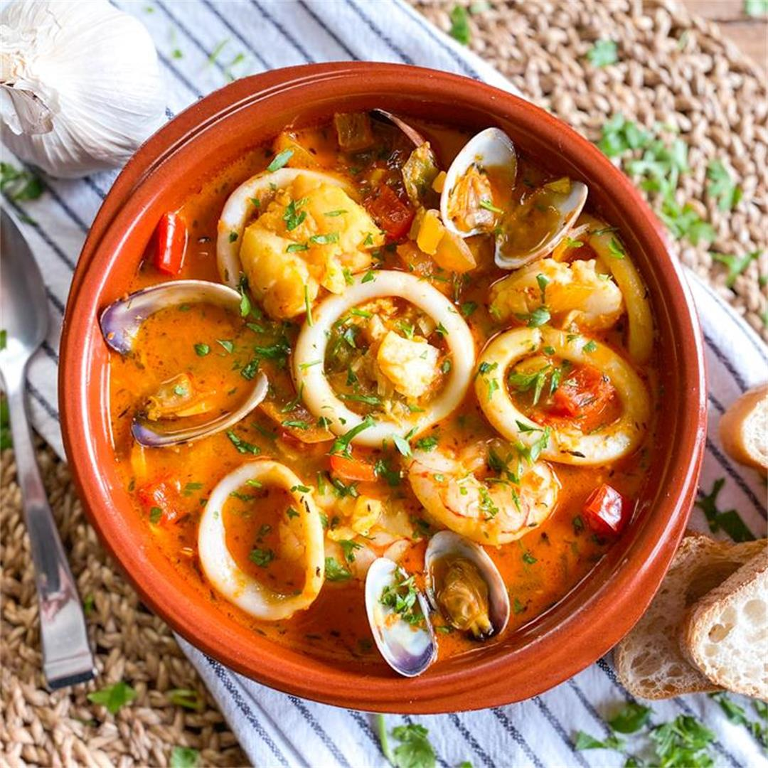 Classic Spanish Seafood Stew | A Timeless Recipe from Barcelona